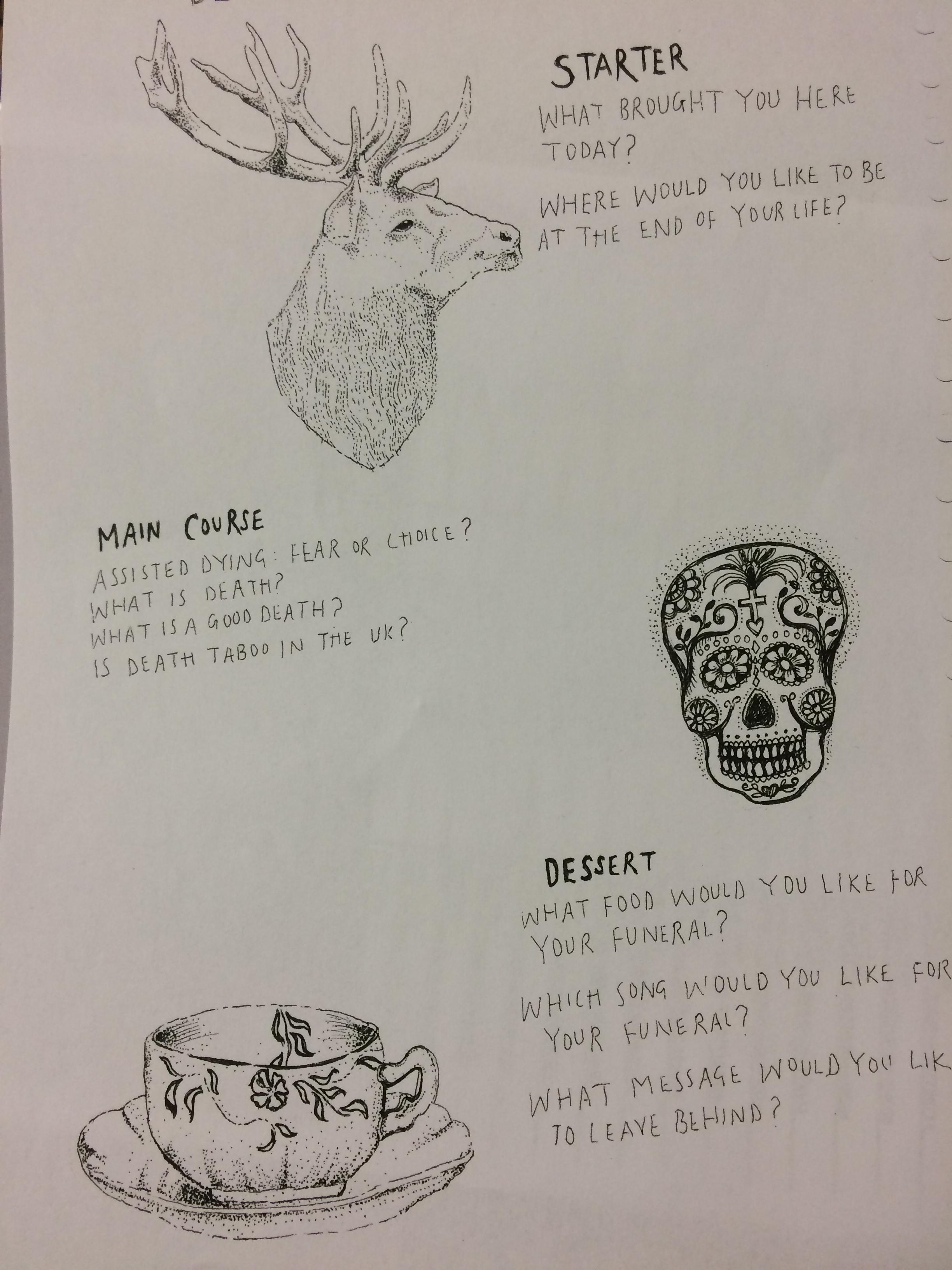 DeathCafe menu
