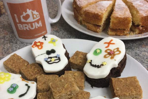 Cake at Birmingham Death Cafe