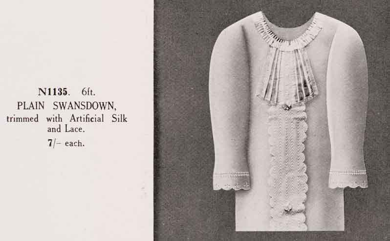 A 'sort of dress' – making shrouds in the 1950s