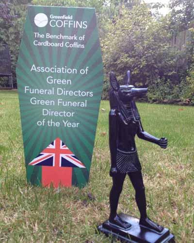 Green Funeral Director Award 2015