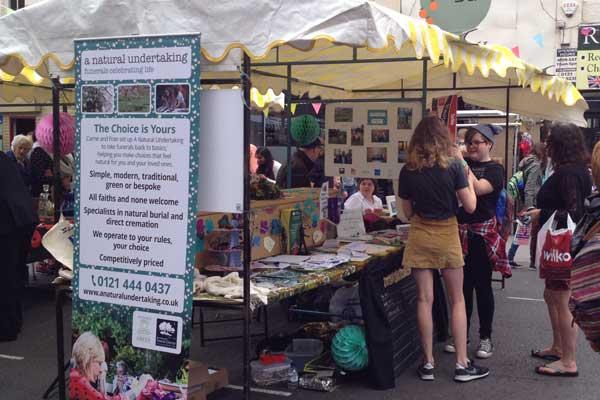 A Natural Undertaking at Kings Heath Street Festival