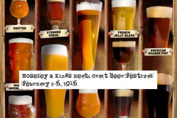 Moseley and Kings Heath Beer Festival