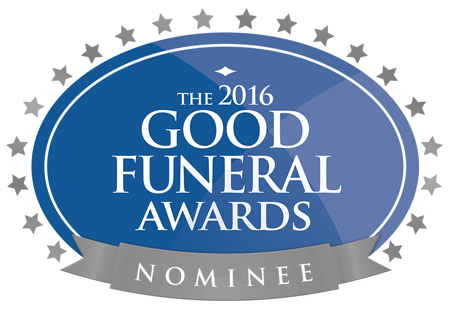 Good Funeral Awards 2016 nomination