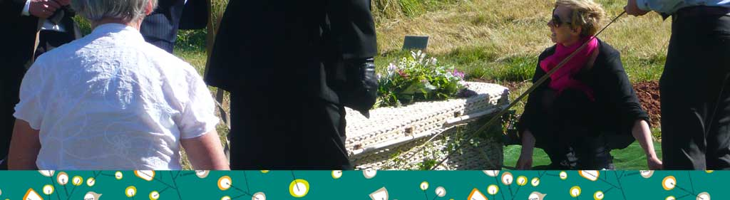 A Natural Undertaking funeral