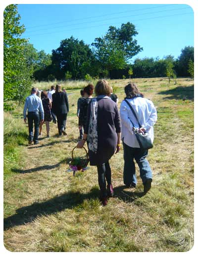Natural Burial Procession