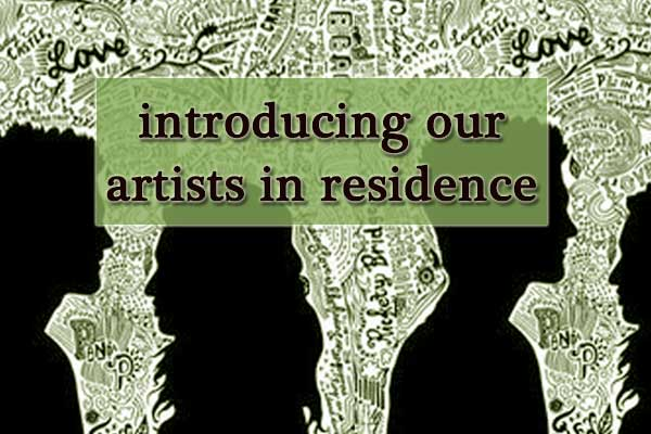 Introducing our artists in residence
