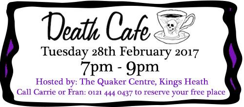 Death Cafe 28th Feb'17