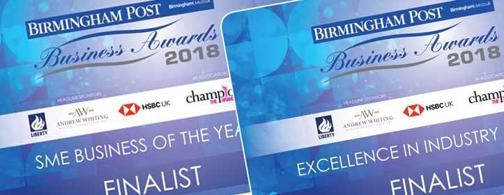 Shortlisted - Birmingham Post Awards