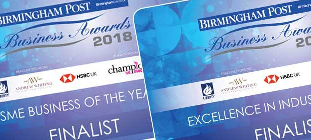 Shortlisted - Birmingham Post Awards