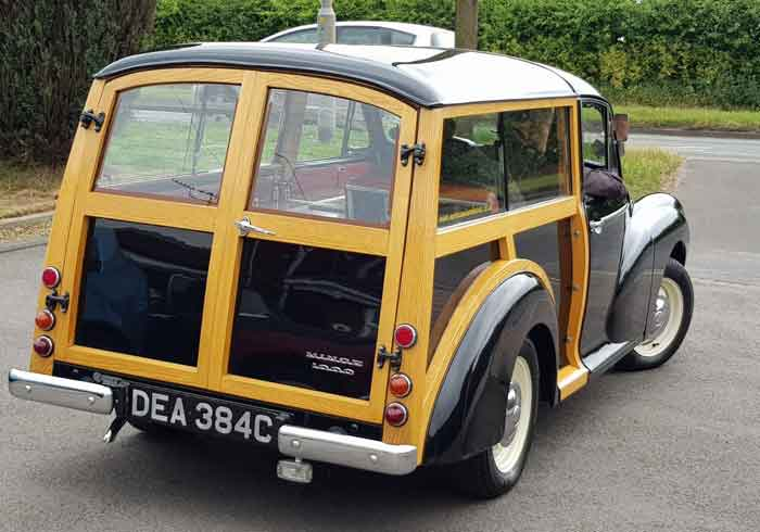 Morris Minor Traveller Hearse