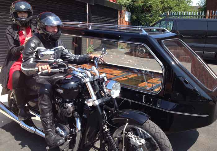 Motorcycle Sidecar Hearse