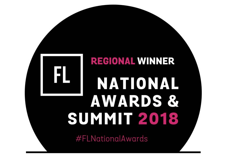 Regional Winner of FL Awards 2018