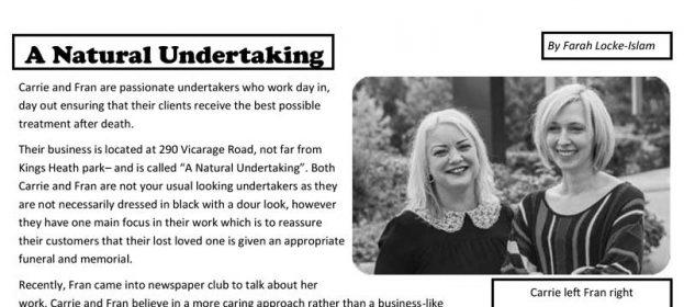 Kings Heath Primary School Interviews Us